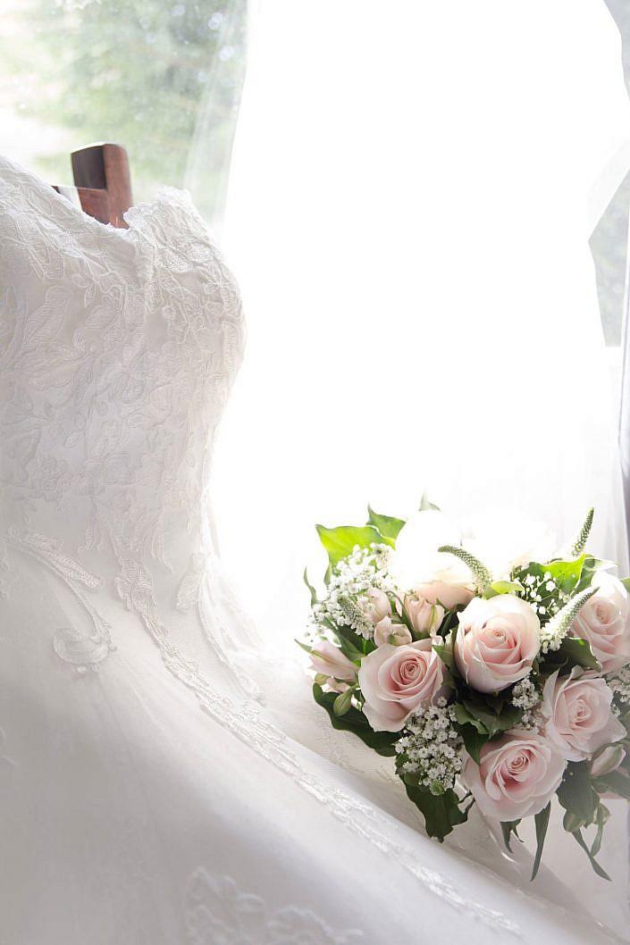 Photographe de mariage et séances photos - Robe de mariée